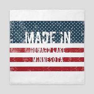 Made in Howard Lake, Minnesota Queen Duvet