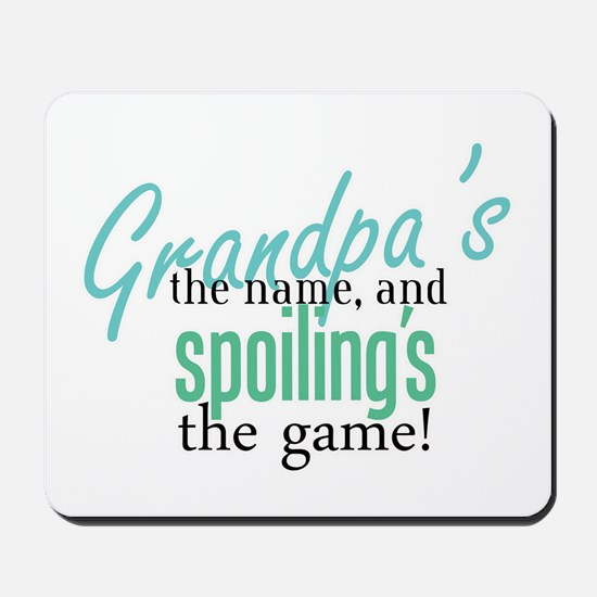 Grandpa's the Name! Mousepad