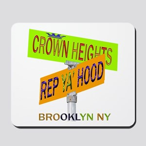 REP CROWN HEIGHTS Mousepad