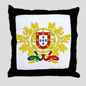 Coat of Arms of Portugal - Brasão de Throw Pillow