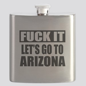 Let's Go To Arizona Flask