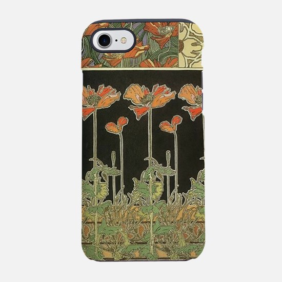 Alphonse Mucha Vintage Popul iPhone 8/7 Tough Case