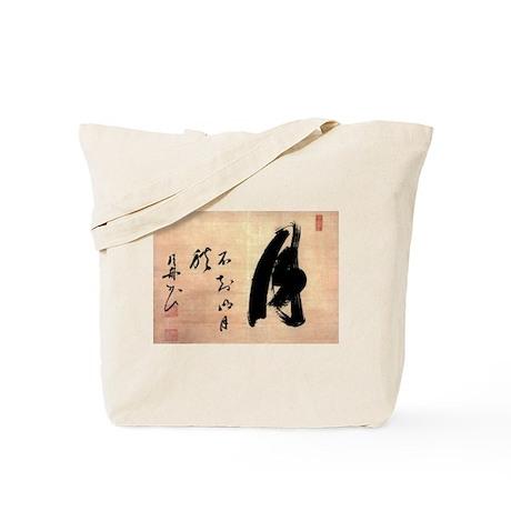 Zen Moon by Gesshu Soko Tote Bag