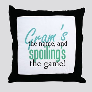 Gram's the Name! Throw Pillow