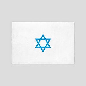 Star of David 4' x 6' Rug