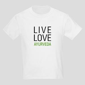 Live Love Ayurveda Kids Light T-Shirt