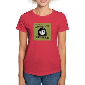 Revolucion Ecoista Women's Dark T-Shirt