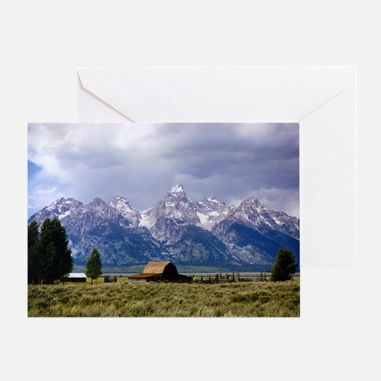 Grand Tetons National Park Greeting Card