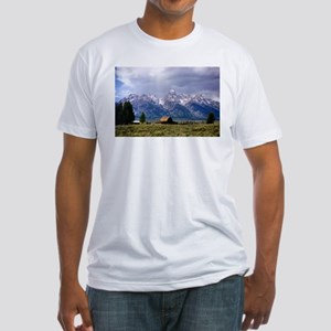 Grand Tetons National Park Fitted T-Shirt