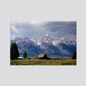 Grand Tetons National Park Rectangle Magnet