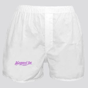 Purple blessed be Boxer Shorts