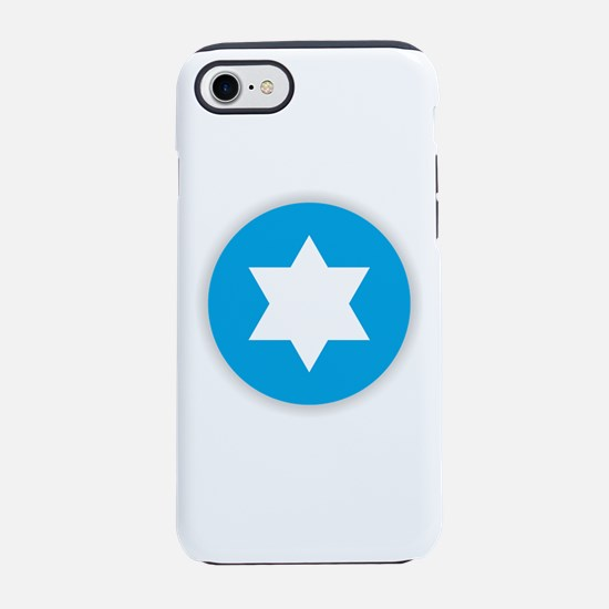 Star of David - Abstract iPhone 8/7 Tough Case