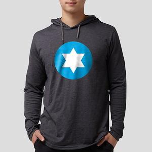 Star of David - Abstract Long Sleeve T-Shirt