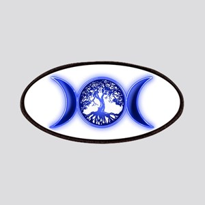 blue tree of life waxing waying moon Patch