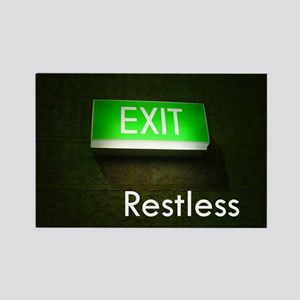 Restless Rectangle Magnet