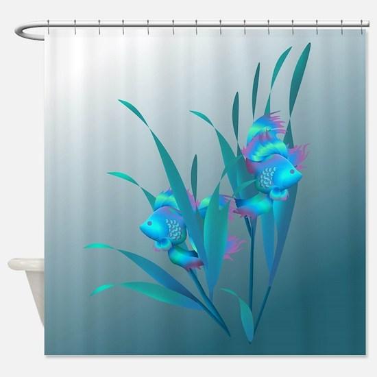 Cute Ocean Shower Curtain