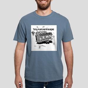 Still Plays With Blocks Ash Grey T-Shirt