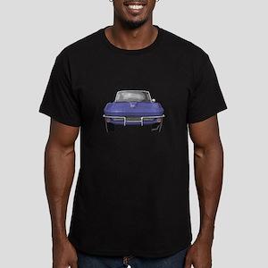 1964 Corvette Men's Fitted T-Shirt (dark)