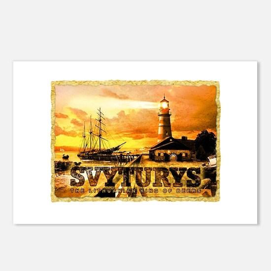 Svyturys Light House Postcards (Package of 8)