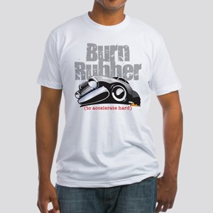 Burn Rubber Fitted T-Shirt