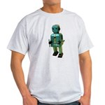 60's vintage blue Robot Light T-Shirt