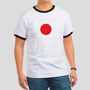 Japanese Flag Ringer T