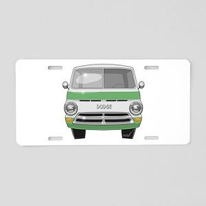1962 Dodge Van Aluminum License Plate