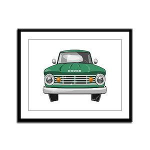 1967 Dodge Fargo Framed Panel Print