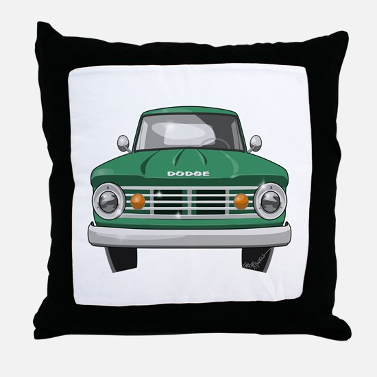1967 Dodge Fargo Throw Pillow