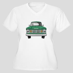 1967 Dodge Fargo Women's Plus Size V-Neck T-Shirt
