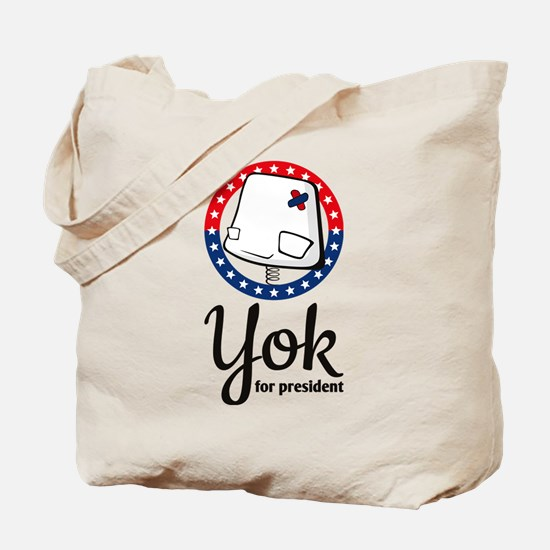 Yok - for president Tote Bag