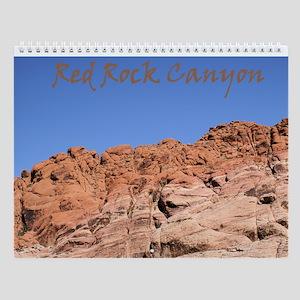 Red Rock Canyon Wall Calendar