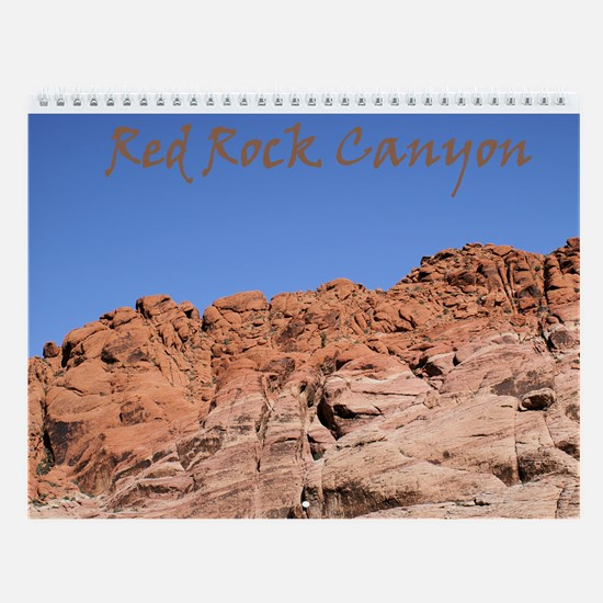 Red Rock Canyon Wall Calendar