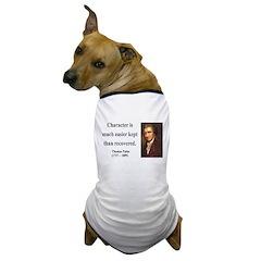 Thomas Paine 15 Dog T-Shirt