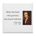 Thomas Paine 16 Tile Coaster