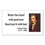 Thomas Paine 16 Rectangle Sticker