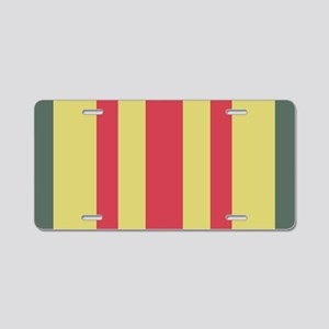 Vietnam Service Ribbon Aluminum License Plate