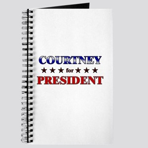 COURTNEY for president Journal
