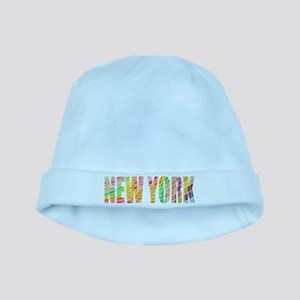 New York, the Colorful City Baby Hat