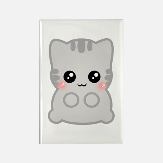 Neko Rectangle Magnet