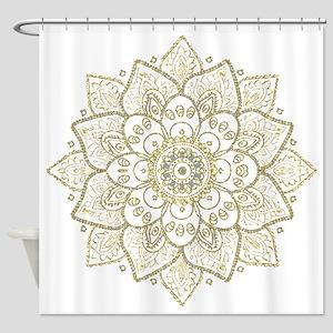 Mandala Shower Curtains