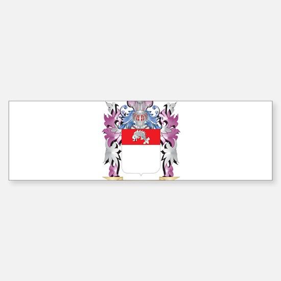 Fischer Coat of Arms (Family Crest) Bumper Bumper Stickers