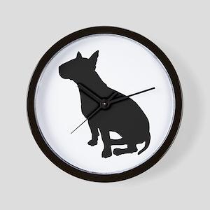 Bull Terrier Dog Breed Wall Clock
