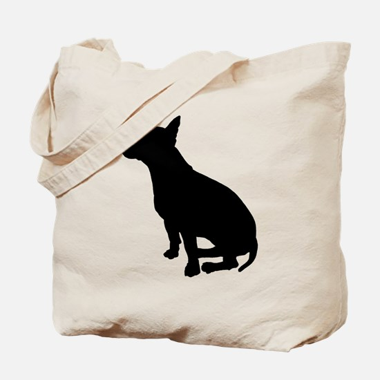 Bull Terrier Dog Breed Tote Bag
