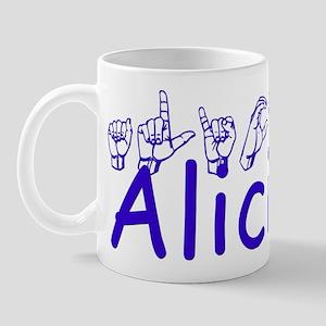 Alicia Mug