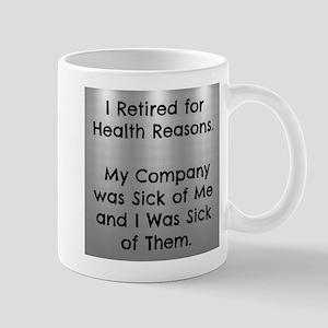 Retired Funny Mugs