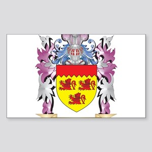 Fishe Coat of Arms (Family Crest) Sticker