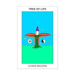Tree Of Life By Chris Moors 11x17mini Poster Print