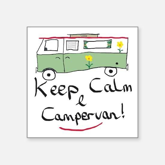 Keep Calm Campervan Sticker
