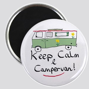 Keep Calm Campervan Magnets